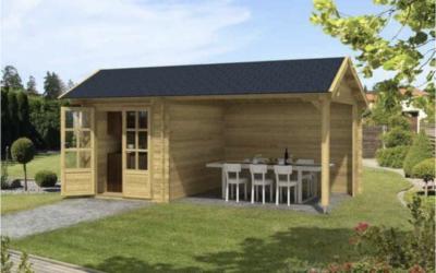 Ruim aanbod tuinhuisjes en blokhutten bij Fonteyn