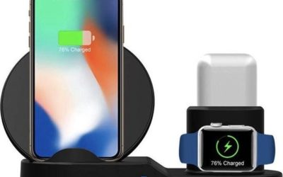 3-in-1 oplaadstation voor telefoon, EarPods en Smartwatch is dé gadget van 2021
