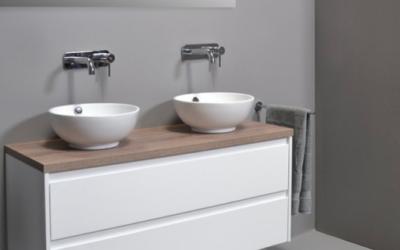 Moderne vrijhangende wastafels en accessoires online kopen bij Badkamerxxl.nl